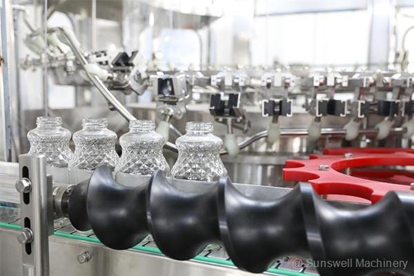 玻璃果汁瓶灌装机03